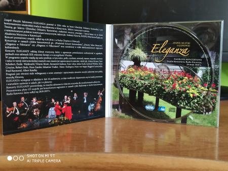 """Koncertowa płyta CD """"Wiedeński Salon Muzyczny ELEGANZA"""""""