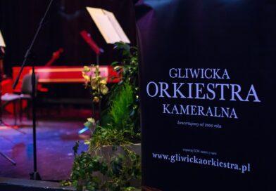 Rollup z napisem Gliwicka Orkiestra Kameralna