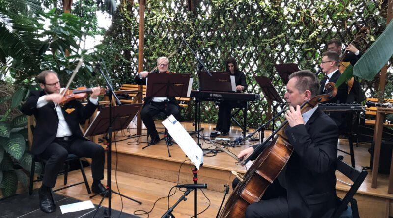 Koncert Eleganza w Palmiarni