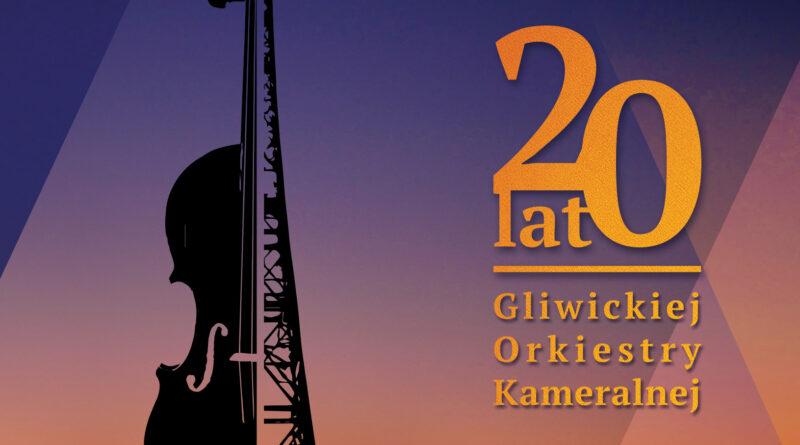 Płyta CD na 20-lecie Gliwickiej Orkiestry Kameralnej.